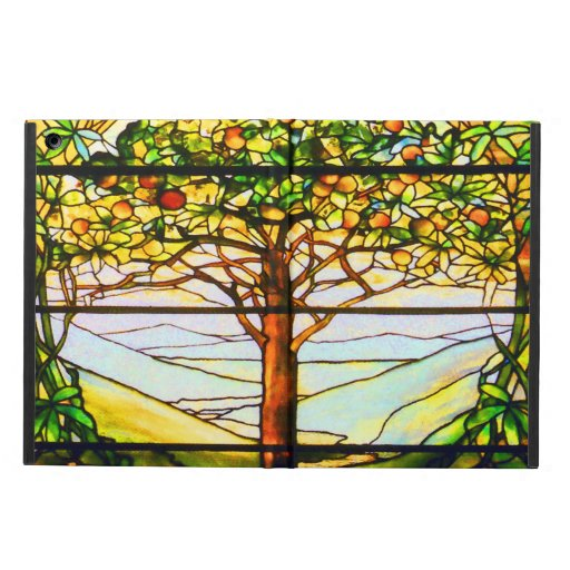 Spiritual Scenic Landscape Tiffany Window iPad Air Cases