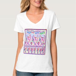 Spiritual Soul Dance Nano V-Neck T-Shirt