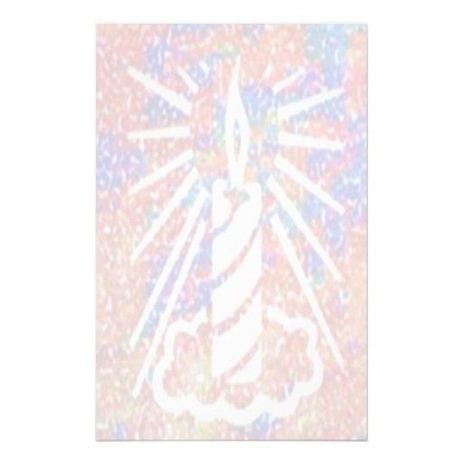 Spiritual:  Spreading the Light V2 Custom Stationery