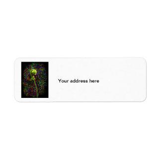Spiritual Staff Return Address Label