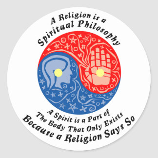 Spiritual Sticks Classic Round Sticker