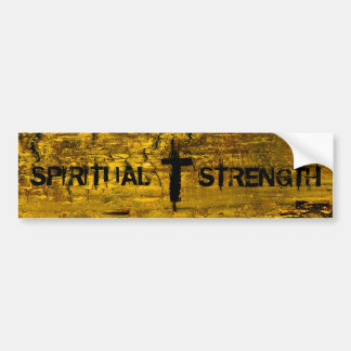 Spiritual Strength Bumper Sticker