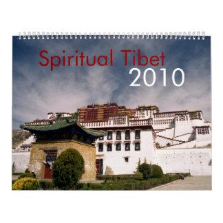 Spiritual Tibet 2010 Calendar