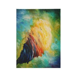 spiritual tornado wood poster