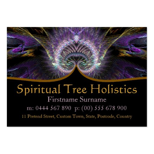 Spiritual Tree Holistic Business Cards