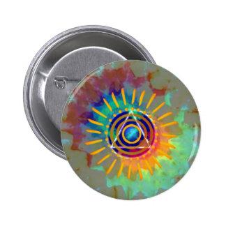 Spiritual Tyedye 2 Inch Round Button