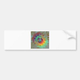 Spiritual Tyedye Bumper Sticker