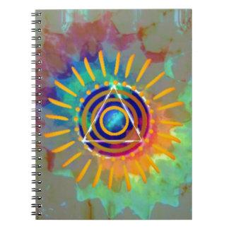 Spiritual Tyedye Notebook
