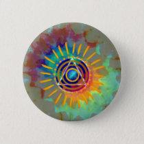 Spiritual Tyedye Pinback Button