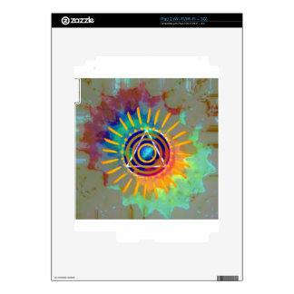 Spiritual Tyedye Skins For iPad 2