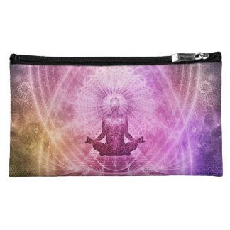 Spiritual Yoga Meditation Zen Colorful Makeup Bag