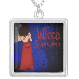 Spiritualist de Wicca Collar Plateado