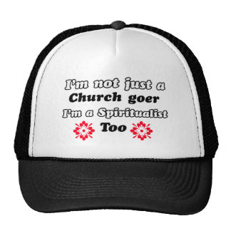 Spiritualist designs trucker hats
