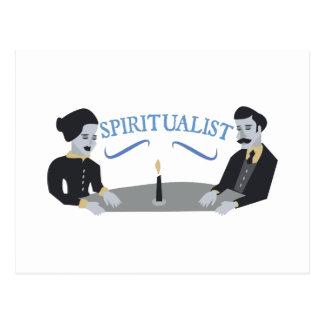 Spiritualist Postcard