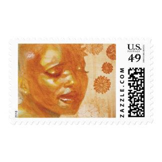 Spirituality Postage Stamp
