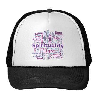 Spirituality Word Cloud - Pink Hat
