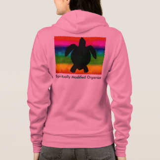 Spiritually Modified Organism with Honu Hoodie