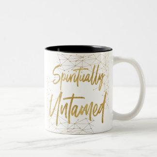 Spiritually Untamed 2-Tone Mug