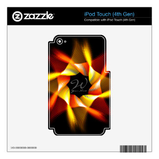 Spiro 1 MP3 Player Skin Skins For iPod Touch 4G