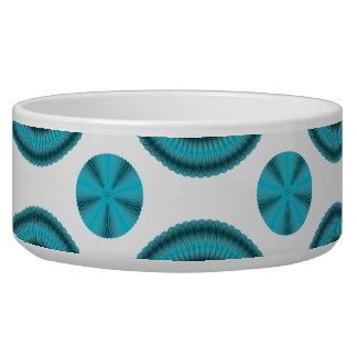 Spiro Flowers Pick any Background Color Pet Water Bowls