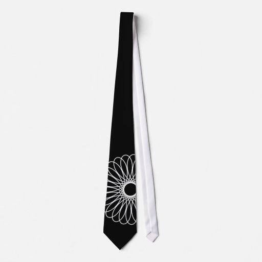Spirograph blanco corbatas