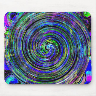 Spirograph Blue misc. items Mouse Pad