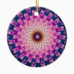 Spirograph Ceramic Ornament