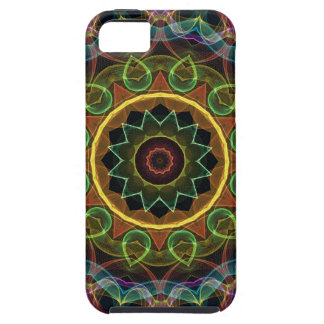 spirograph egg shaped leaves iPhone SE/5/5s case
