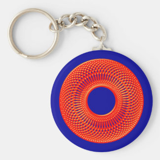 spirograph figura geométrica geometric shape llavero redondo tipo pin