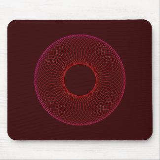 spirograph figura geométrica geometric shape mouse pads