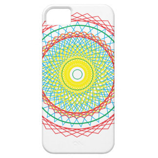 Spirograph Funda Para iPhone 5 Barely There
