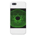 Spirograph futurista iPhone 5 carcasas