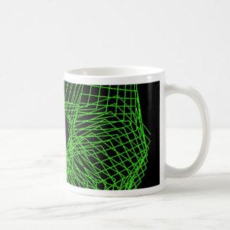 Spirograph futurista taza de café