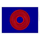 spirograph geometrische Figur geometric shape Grußkarte