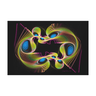 Spirographic Canvas Print
