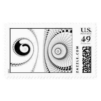 Spirole Postage Stamp