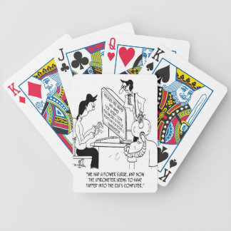 Spirometer Cartoon 7314 Bicycle Playing Cards