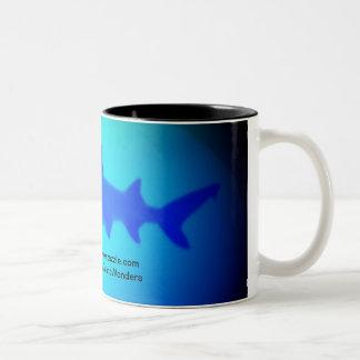 Spirt of the ocean Two-Tone coffee mug