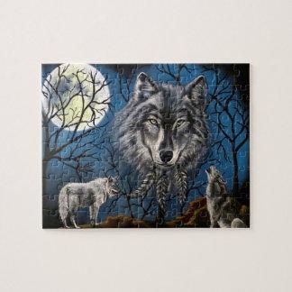Spirt Wolf Jigsaw Puzzle