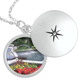 Spit and Spat - CONGRESS PARK Round Locket Necklace