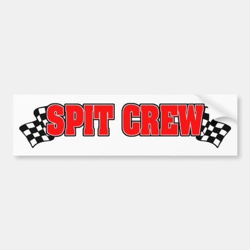 Spit Crew Bumper Sticker