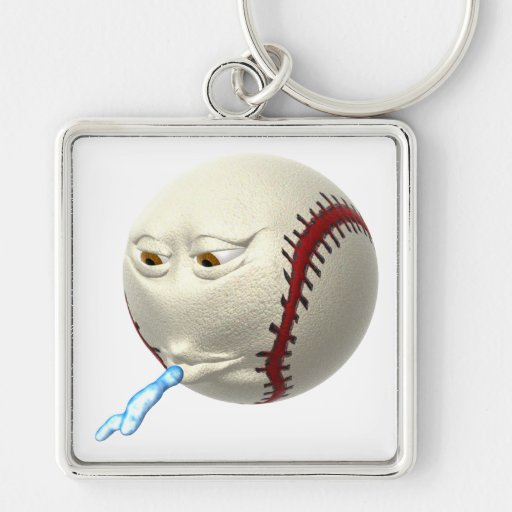Spitball Keychains