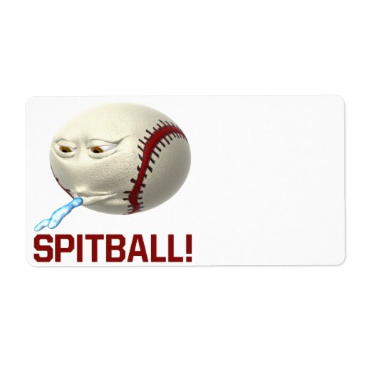 Spitball Custom Shipping Labels