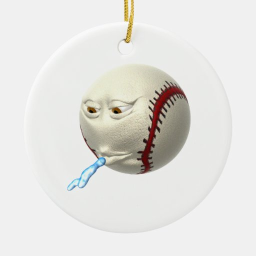 Spitball Christmas Tree Ornaments