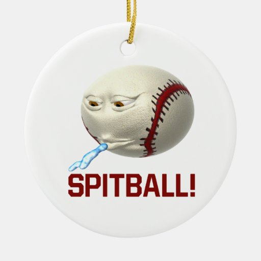 Spitball Ornaments