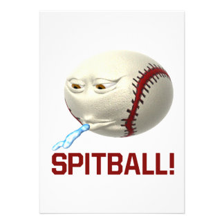 Spitball Personalized Invitations