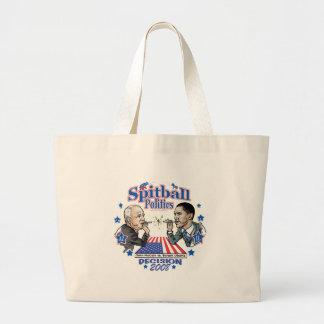 Spitball Politics 2008 Canvas Bag