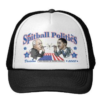 Spitball Politics 2008 Trucker Hat