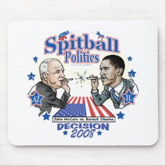 Spitball Politics 2008 Mouse Pad