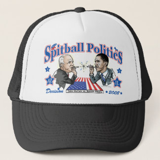 Spitball Politics 2008 Trucker Hat